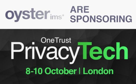 PrivacyTECH 2018 - OIMS sponsor