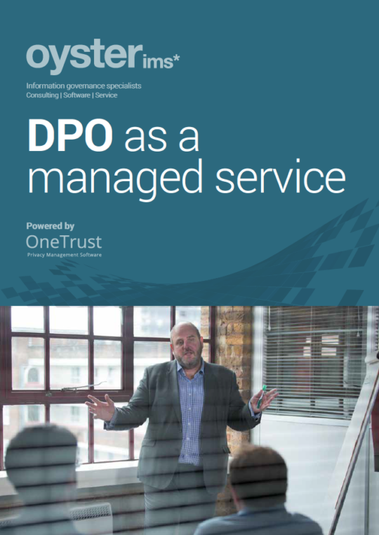 DPO as a Managed Service - Brochure- Oyster IMS