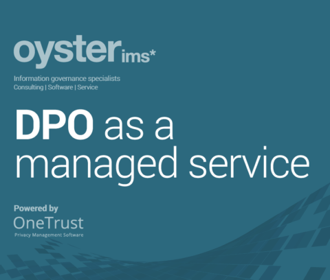DPO as a managed privacy service - Oyster IMS