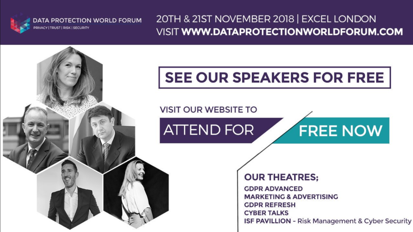 Data Protection World Forum - Oyster IMS