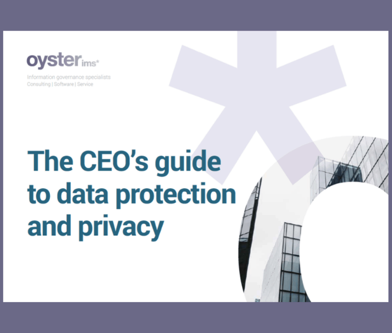 data protection and privacy - Oyster IMS