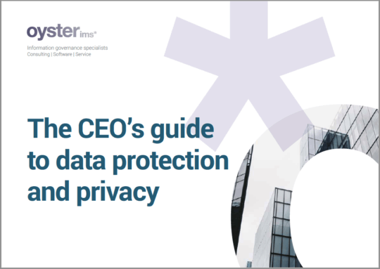 CEOs Guide to data protection and privacy - Oyster IMS