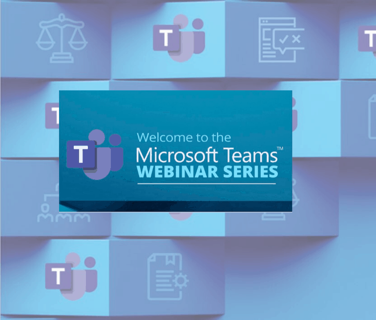 MS Teams Webinars - Oyster IMS